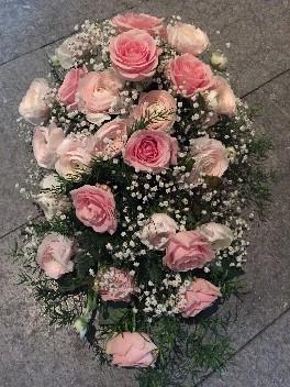 Bukett i rosa